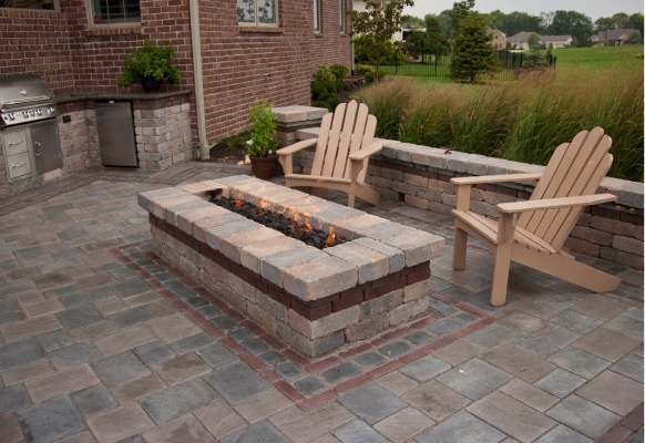 2017 Hardscape Residential Design/Build under $50,000, MG Landscape & Irrigation • Project: Private Residence, Greenwood, IN