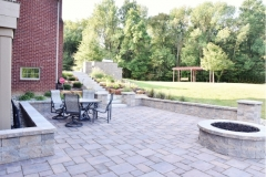 2017 Residential Landscape Design/Build over $50,000, Calvin Landscape • Project: Private Residence, Bargersville, IN