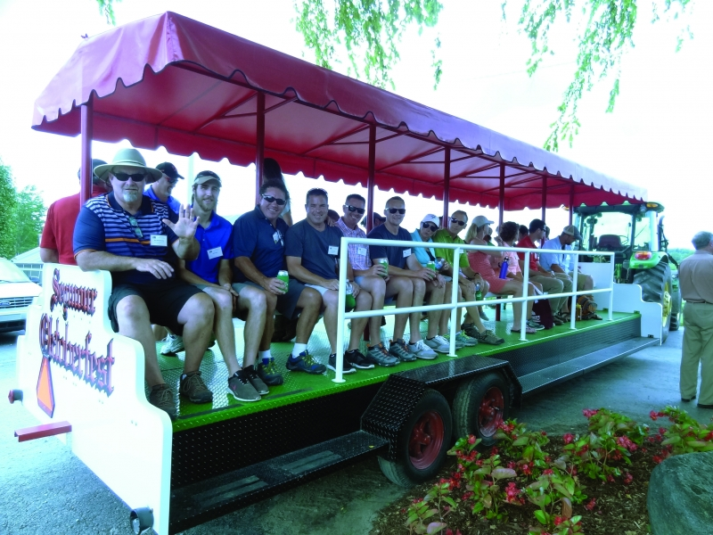 09-Tour transport @ Schneider Nursery