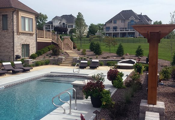 Residential Landscape Design/Build Under $50,000, MG Landscape and Irrigation, Project: Private Residence, Greenwood