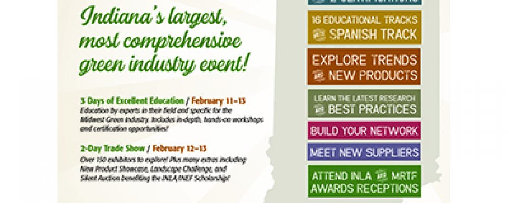 Registration Now Open for Indiana Green Expo 2020