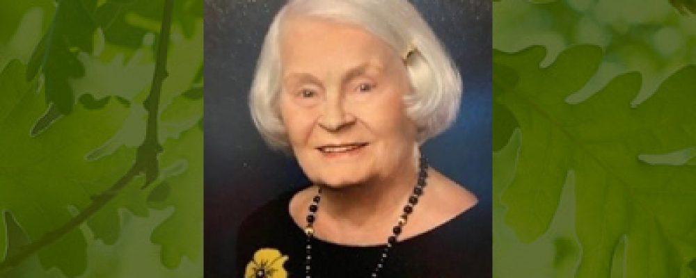 In Memoriam: Carmen S. Holeman