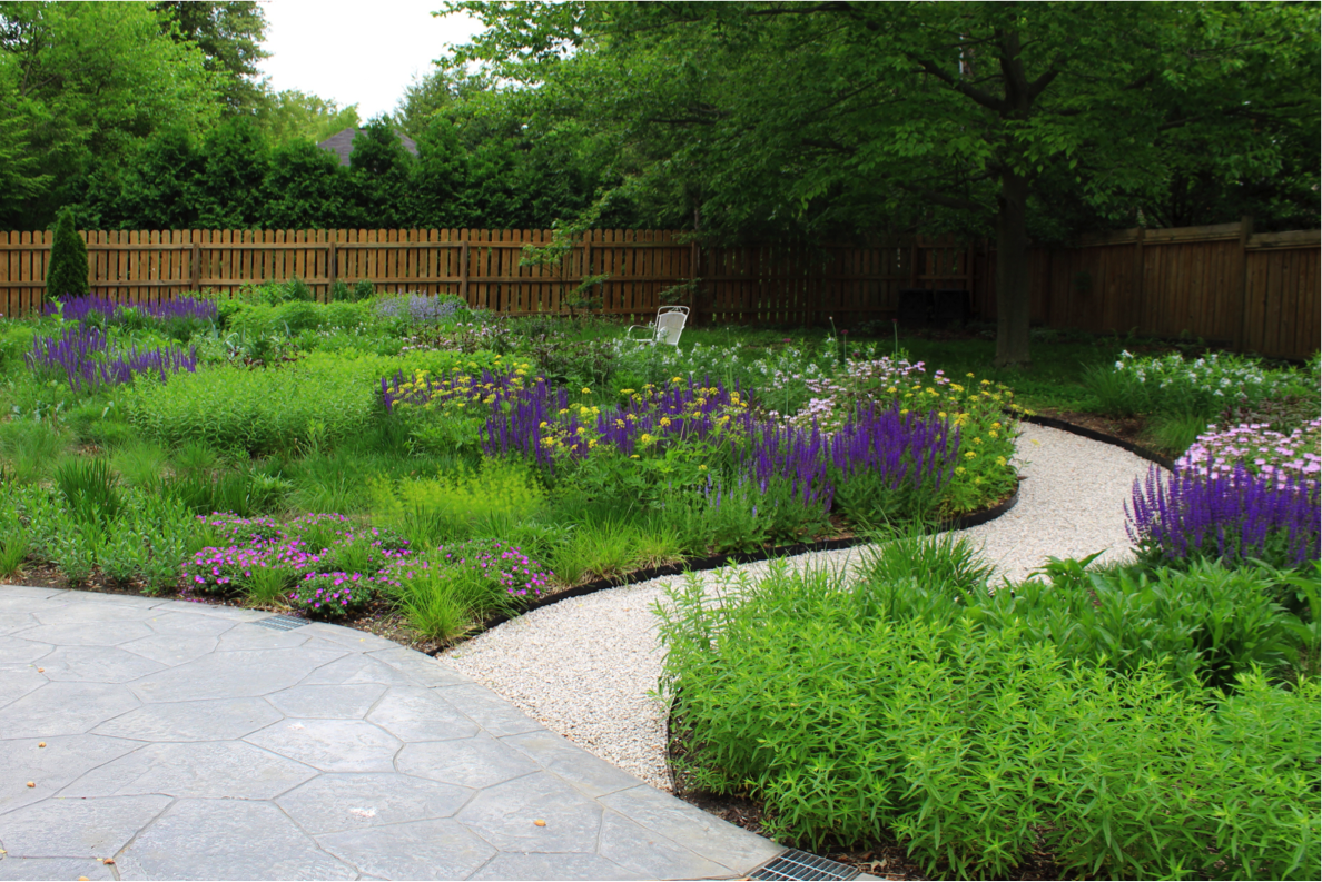 Andrew Marrs Garden Design</br>Category: Special Projects</br>Project: Private Residence, Bloomington